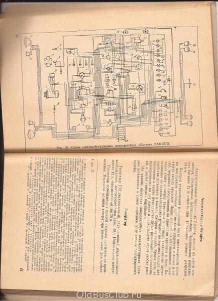 Схема РАФ 977 Д.