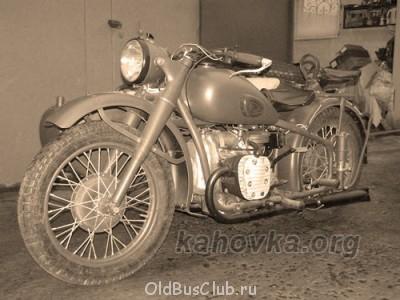 Краткое описание мотоцикла из журнала