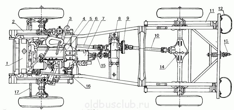 УАЗ 469 (не симметричное