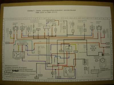 Проводка РАФ 2203 - P1040556.JPG