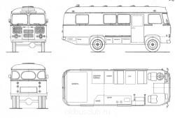 вот план моего автодома, здесь все нарисовано конечно схематично и канечно в ходе страительства будет изменятся по месту и дизайну, но он все находится на своих местах и перемещатся небудет, буду придерживаться этого плана. - 5 Паз 3201 автодом.JPG