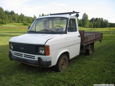 Ford Transit Vehicle type Van Sub type Pickup Color White Year model 1982 Mileage Not specified Fuel type Diesel Engine size 2.4 l Drive type Rear wheel Location Pohjois-Karjala, Tohmajärvi Price 350 380 Gearbox Manual Last updated 21.11.2010 - ford-transit-3465054_l_9d8263c5dfcd111c[1].jpg