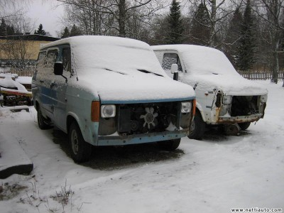 Ford Transit 2 KPL YHDEN HINNALLA Vehicle type Van Sub type Short - Semihigh Color Blue - Nonmetallic Year model 1983 Mileage Not specified Fuel type Diesel Engine size 2.4 l Drive type Rear wheel Location Kainuu, Paltamo Price 500 Gearbox Manual Registration number OSE-714 - ford-transit-3623889_l_1427e9d2f8ad4d9c[1].jpg