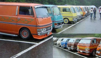 Nissan Caravan 1980 года Е20 - 78.jpg