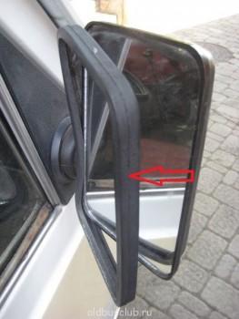 Уплотнитель прямоугольных зеркал 2203-01 22038 - уплотнитель зеркала.JPG