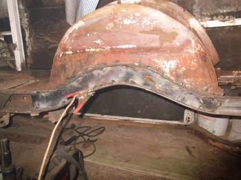 Ремонт рамы и изготовление лонжеронов - DSCF6354.JPG