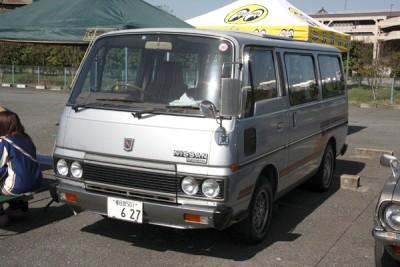 Nissan Caravan 1980 года Е20 - 081.jpg