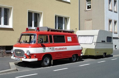 Интересные фотки и истории из жизни. Смешные и не очень. - Feuerwehr Camping.jpg