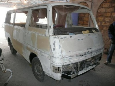 Nissan Caravan 1980 года Е20 - P1090134.JPG