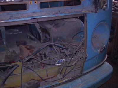 Установка радиатора и двигателя ВАЗ на Т-2 - уст рад2.JPG