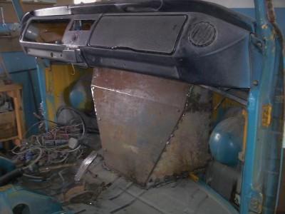 Установка радиатора и двигателя ВАЗ на Т-2 - уст рад7.JPG