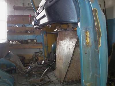 Установка радиатора и двигателя ВАЗ на Т-2 - уст рад9.JPG