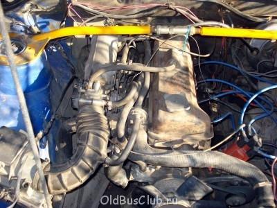 вид сверху. мотор инжектор безмозговый  - моторDSC03736.jpg